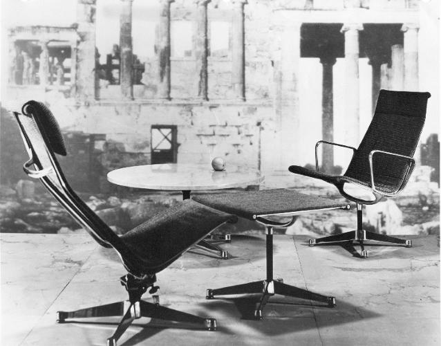 <p>Herman Miller ushered in a new era of office design when the white collar creative industry began to flourish after World War II.</p>