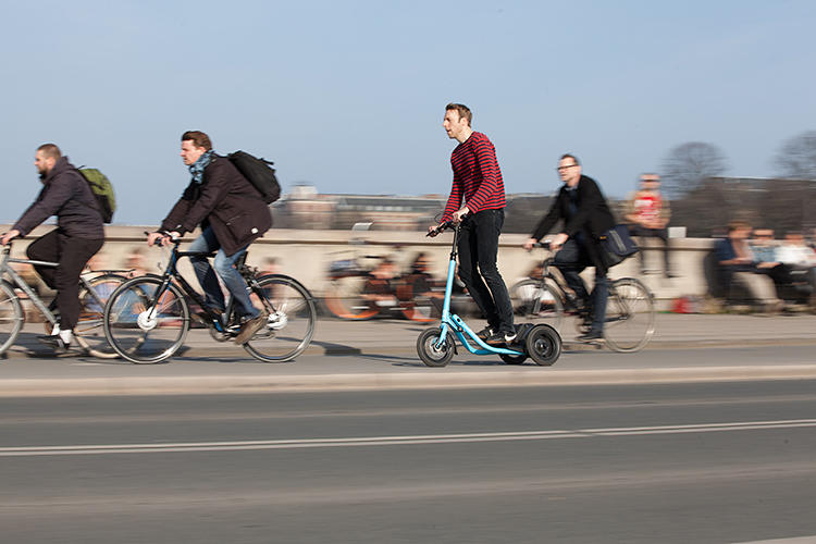 <p>And while cycling is obviously much better exercise than driving a car, Eliasson says that the Me-Mover can provide a better workout than even racing a bike.</p>