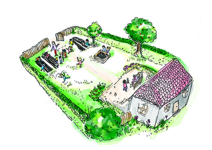 <p>Ideo London proposed Sprouts, a program that would turn the untended gardens of the elderly into nature's classrooms for schoolchildren. Sprouts would be a lot like Boy Scouts or Girl Scouts, where kids learn planting, watering, and garden nurturing skills, and earn badges along the way. The perks for seniors are company and free help with their gardens.</p>