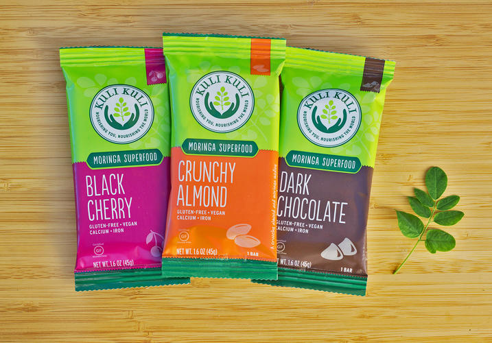 <p>So far the brightly packaged nutrition bars available at Whole Foods in Northern California, and through Amazon.</p>