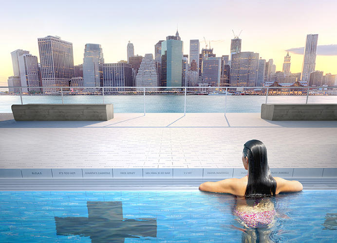 <p>A self-filtering, free-floating public pool could come to the East River as soon as 2016.</p>