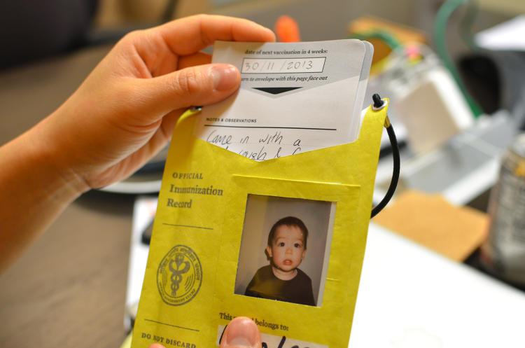 <p>Could something as simple as a redesigned immunization card help more parents stay up to date with their children's vaccinations? That was the premise behind the Gates Foundations' Records for Life contest, which challenged the global health community to redesign children's health records to be more informative and user-friendly.</p>