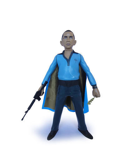 <p>Barack Obama as Lando Calrissian.</p>