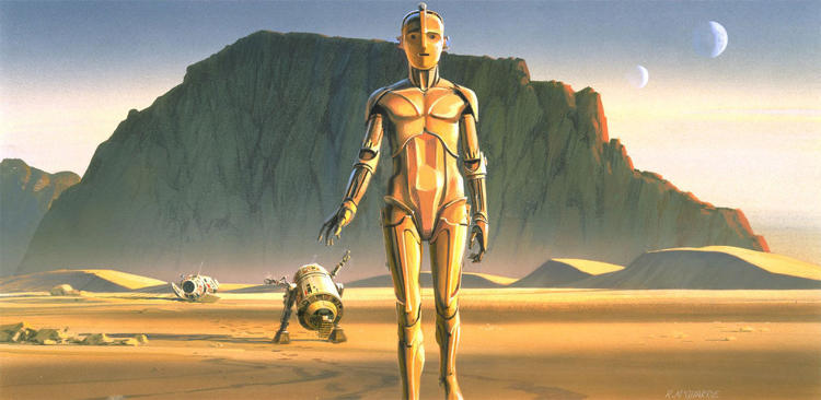 <p>This week, newly released concept art for the <em>Star Wars</em> trilogy by Ralph McQuarrie reminded us of why we love the movies so.</p>