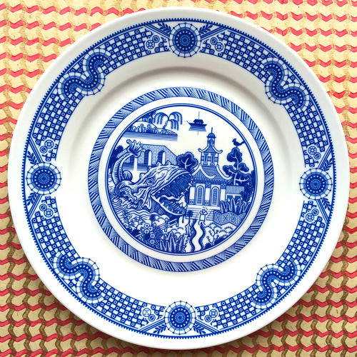 <p>Two of Moyer's Calamityware plates can be purchased <a href=&quot;http://buycalamityware.com/&quot; target=&quot;_blank&quot;>right now in his shop</a> for $42, while a third design is <a href=&quot;https://www.kickstarter.com/projects/159974695/calamityware-dinner-plate-3?ref=discovery&quot; target=&quot;_blank&quot;>currently on Kickstarter</a>. (The fourth is in production.)</p>