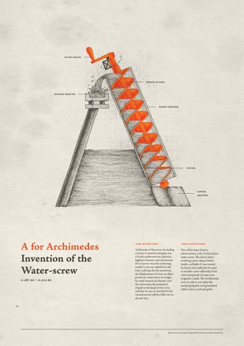 <p>A glossary of the 26 inventions that have most changed the world have been turned into a literal ABCs, thanks to a new typeface by New Delhi design student <a href=&quot;https://www.behance.net/khyatitrehan&quot; target=&quot;_blank&quot;>Khyati Trehan</a>.</p>