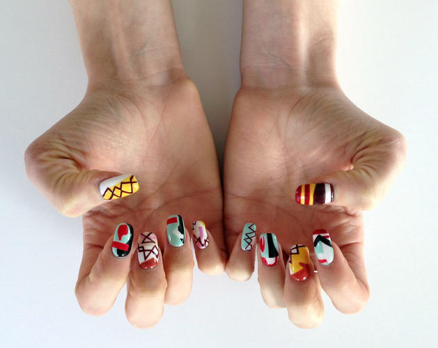 <p>This Shirley Jaffe manicure is one of Kenna's personal favorites.</p>