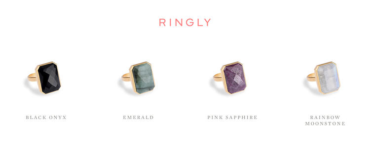 <p>Ringly is available in four colors, for $145 a pop (25 percent off retail), <a href=&quot;http://www.ringly.com&quot; target=&quot;_blank&quot;>here</a>.</p>