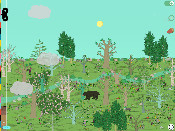 <p>Tinybop Plants is like an interactive Golden Book.</p>