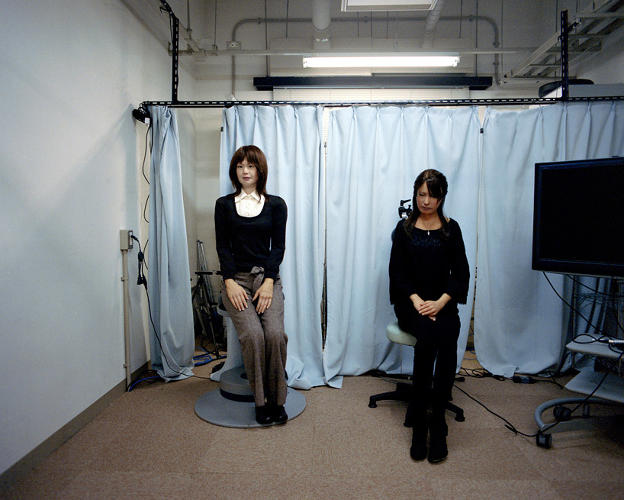 "<p>The scientists' research often focuses on whether his robotic double could somehow possess his ""Sonzai-Kan,"" a Japanese term that translates to the ""presence"" or ""spirit"" of a person.</p>"