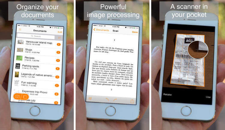 <p>You might wonder about the difference between a scanner app and your phone's camera--Genius Scan explains its document border detection, lighting compensation, and other post-processing features that make a clean, clear scan.</p>