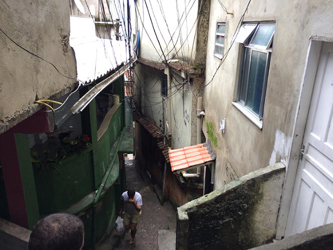 <p>I made my journey into Rocinha to meet Elliot Rosenberg, a recent college graduate from Los Angeles who has started a homestay business in the favela.</p>