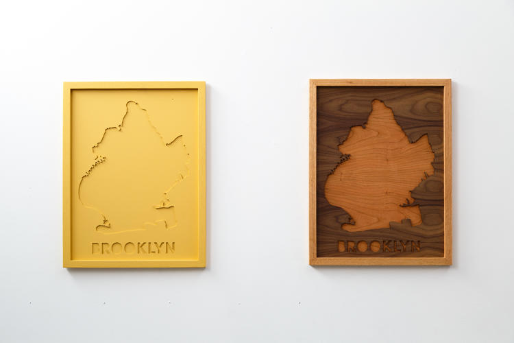 <p>They come in laser-cut hardboard, oak, walnut, or cherry.</p>