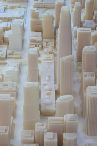 <p>Even with its limited scope, Autodesk thinks that that the resin model, which took creative agency Steelblue six years to design and required two months for the actual printing, may be the largest 3-D printed model cityscape ever made.</p>