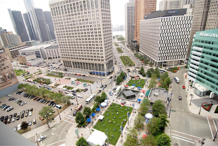 <p>The first pilot in Southwest's urban design program took place in Detroit last year.</p>