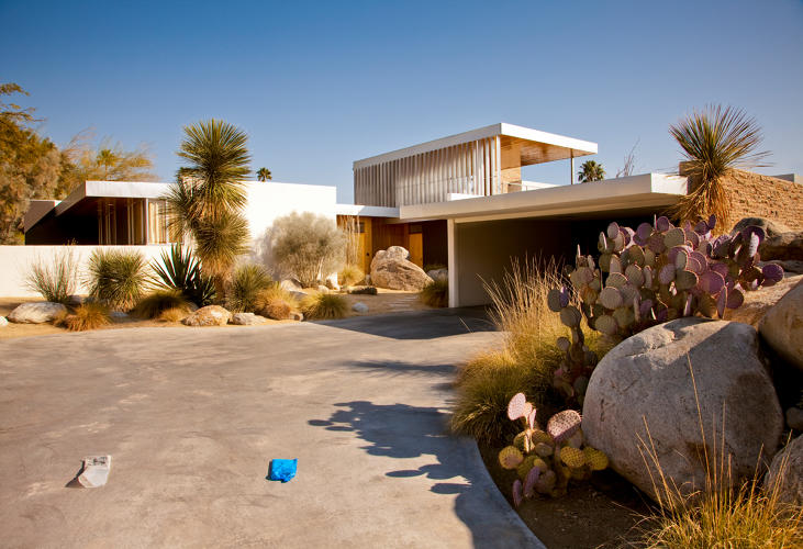 <p>It's home to a large concentration of mid-century modernist architecture.</p>