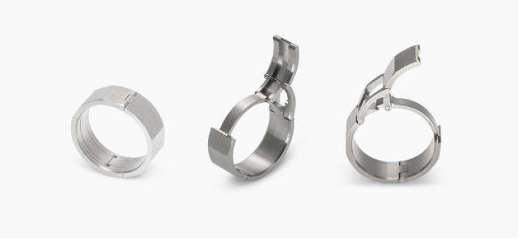 <p><strong>Sports-nut (married) dad</strong></p>  <p>Men get stuck with boring wedding rings while women get the diamonds. Worse, they have to fit that ring over their man-knuckles. Traditional rings are an awkward fit for men with large knuckles, says Jeff McWhinney, a California-based machinist and designer. McWhinney turned his attention from bicycles and skateboards in order to give men <a href=&quot;http://www.fastcodesign.com/3030074/a-safer-wedding-band-for-active-husbands&quot; target=&quot;_self&quot;>a ring with an open-close clasp locking mechanism</a> (so dads can take it off when, you know, rappelling down a cliff) and a ruggedly modern style.</p>