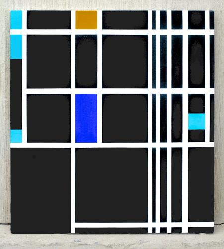 <p>Although Mondrian died virtually unknown and penniless, his style--characterized by primary colors wedged in by black lines on an X and Y-axis--is universally recognizable to the art-touring masses.</p>