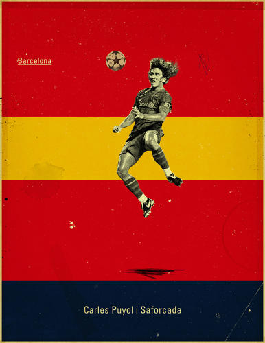 <p>A soccer fan himself, Chiaramonte began poking around on various boards, and again and again, a certain set of images came up that users had pinned from a portfolio site called Behance. They were created by Jon Rogers, a soccer coach and amateur graphic designer from Canada.</p>