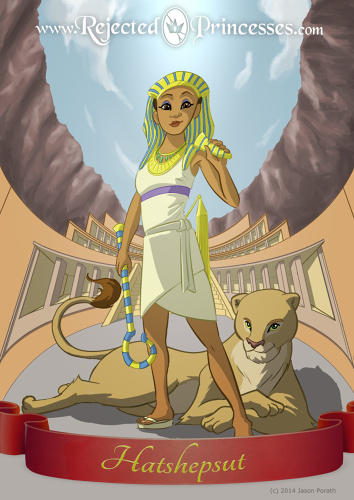 <p>Hatshepsut, arguably the greatest pharaoh in history, ruled for less than twenty-two years. To quiet gossip at court, she began her rule wearing men's clothing, including the pharaoh's false beard.</p>