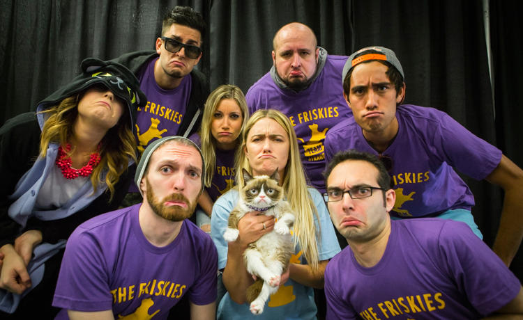 <p>Friskies assembled a team of well-known YouTubers to promote its cat award show at VidCon.</p>