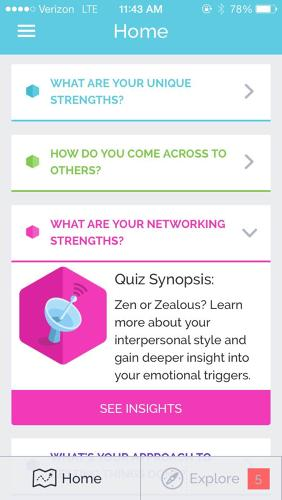 <p>The quizzes--there are many--have become more nuanced. The platform used to measure 15 personality traits; now it measures 45.</p>