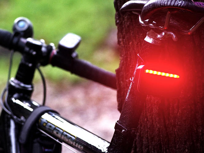 <p>Struwig says the handlebar display isn't really a danger signal. It's more about giving riders extra intelligence.</p>