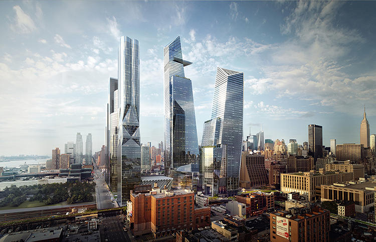 <p>The Hudson Yards is the biggest development project in NYC since Rockefeller Center.</p>