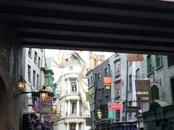"<p>""Harry Potter's world includes Gothic, Victorian, Soviet elements, '70s and '80s influences,"" Lima says.</p>"