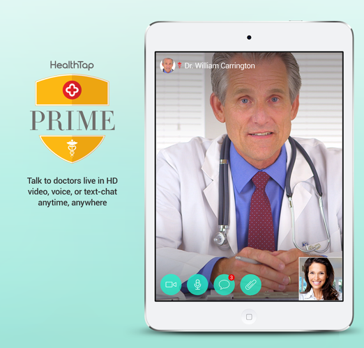 <p>The &quot;get help&quot; module offers immediate access form any mobile device to licensed physicians using text, voice, and video. Appointments don't need to be scheduled in advance. Doctors can also prescribe medication.</p>