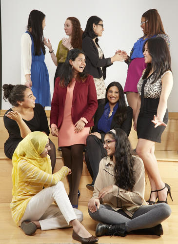 <p>As a rapidly growing nonprofit, Girls Who Code makes every effort to close the gender gap in the technology and engineering sectors. Photo credit: Robyn Twomey.</p>