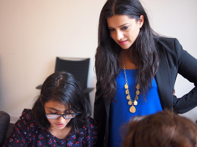 "<p>""With 1.4 million jobs in the computing fields by 2020, I knew we had to do something to close that gap."" – Reshma Saujani</p>"