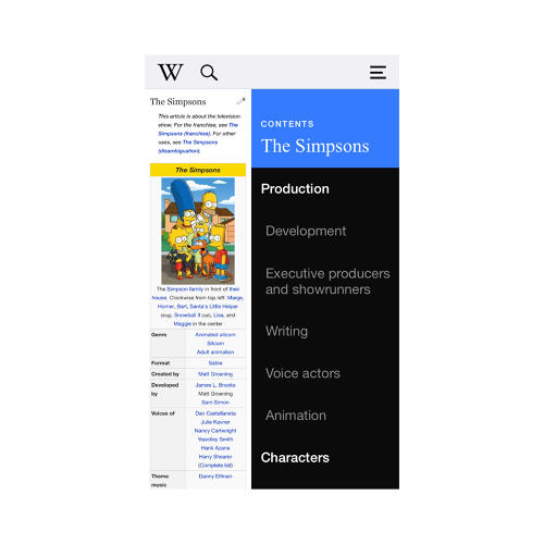 <p>The new Wikipedia app for iOS, available starting July 31, was designed for two things: speed and curiosity.</p>