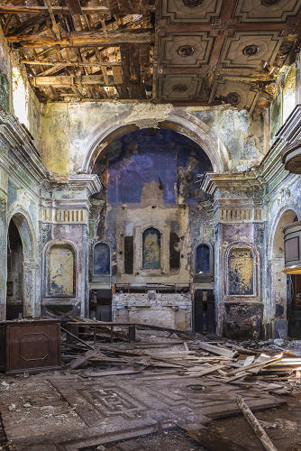 <p>As part of his latest project, Buona Fortuna (&quot;Good luck&quot; in Italian), Rubio hopes to re-open some of the abandoned cultural spaces in Salerno, like churches and chapels, that have been looted of valuable religious symbols and artwork.</p>