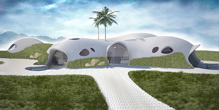 These Inflatable Disaster Relief Domes Are Blown From