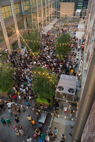 <p>The hundreds of people who show up each week to party at Mister Sunday are out for a good time.</p>