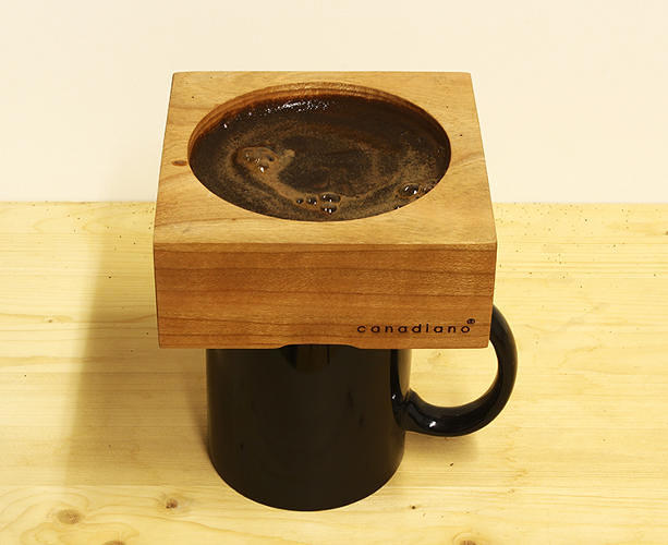 <p><a href=&quot;http://www.fastcodesign.com/3023370/wanted/the-prettiest-way-to-brew-pour-over-coffee&quot; target=&quot;_self&quot;>Canadiano</a> is beautifying the pour-over coffee fad made popular by <a href=&quot;http://www.bluebottlecoffee.com/&quot; target=&quot;_blank&quot;>Blue Bottle</a> and <a href=&quot;http://www.intelligentsiacoffee.com/&quot; target=&quot;_blank&quot;>Intelligentsia</a>. The wooden coffee-brewing blocks from Toronto-based <a href=&quot;http://www.fishtnk.com/&quot; target=&quot;_blank&quot;>Fishtnk Design Factory</a> use a washable metal filter instead of the porcelain and paper filters traditionally used to make pour-over coffee. The wood learns your coffee habits over time and absorbs the oils of the coffee grinds you use most, eventually influencing the flavor. The blocks come in maple, walnut and cherry, each of which offers a different hardness and rate of absorption. Get one <a href=&quot;http://canadiano.co/&quot; target=&quot;_blank&quot;>here</a>.</p>