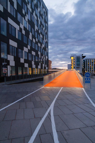 <p>&quot;There was a missing link that forced bicycle users to use the stairs or make a huge detour around a shopping center,&quot; says Mikael Colville-Anderson, Copenhagen-based urban design expert and CEO of Copenhagenize Design Company.</p>