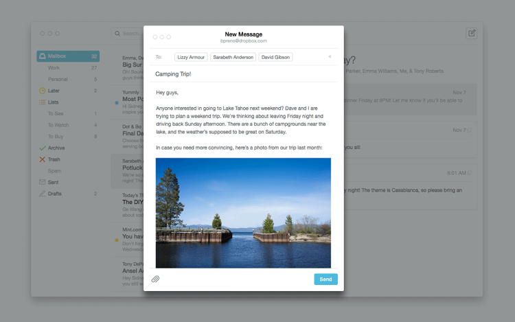<p>The new Mailbox is launching in beta today.</p>