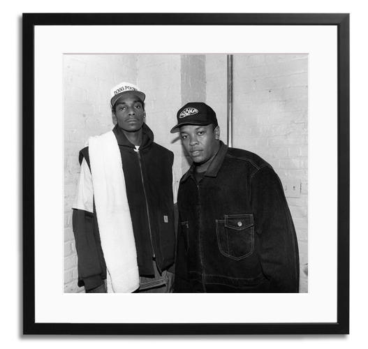 <p>Snoop Doggy Dogg and Dr. Dre</p>