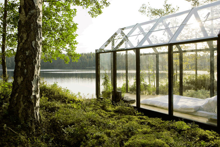 <p>This garden shed-greenhouse hybrid lets you feel about as close to nature as possible while still technically being inside.</p>