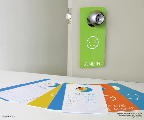 <p>Tools like &quot;Do Not Disturb&quot; style door cards help patients indicate their preferences about the environment.</p>