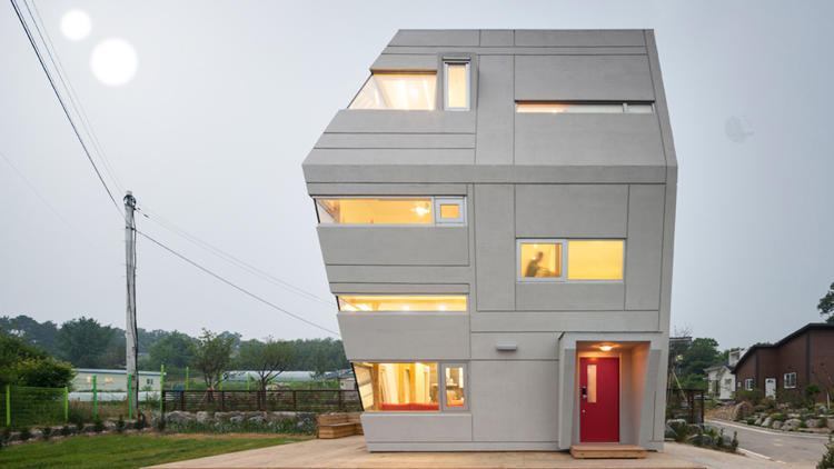 This house was inspired by star wars co design for Star home designs