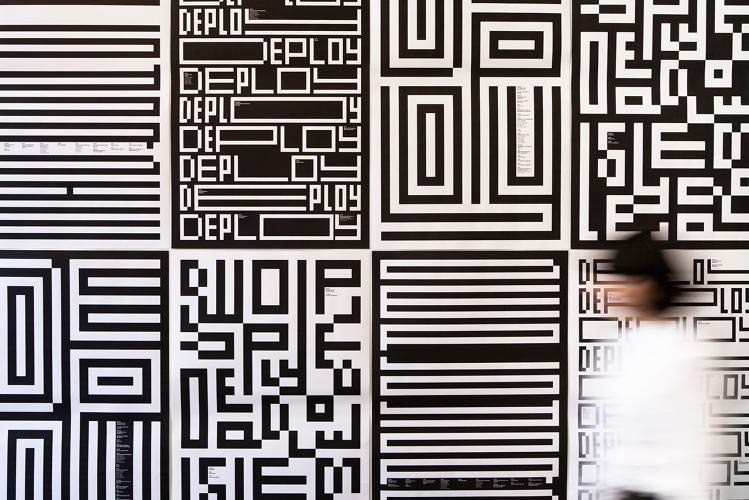 <p>The MIT Media Lab is reinventing its visual identity with the help of Pentagram partner Michael Bierut. The new logo is an abstract set of pixel-art hieroglyphics that marry two distinctly different eras in MIT's rich graphic design history.</p>