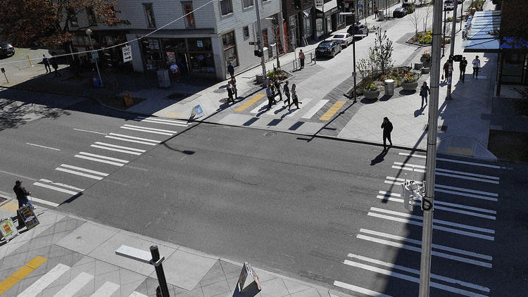 <p>Imagine a street with no real distinctions between pedestrians, cyclists, and drivers at all.</p>