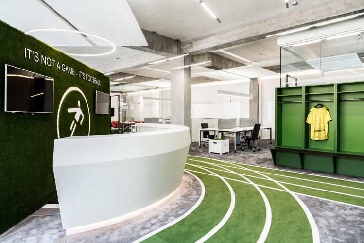 This Office Has A Running Track CoDesign Business