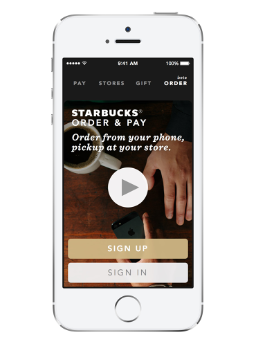 <p>With an update to Starbucks's iOS app, you'll be able to order coffee through your phone rather than wait in line.</p>