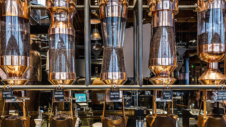 The World S Largest Starbucks Is The Willy Wonka Factory