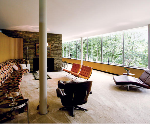 The Remarkably Intimate Houses Of Father Son Architects Eliel And Eero Saarinen Co Design