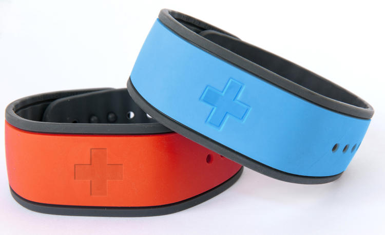 <p>Patients could wear the bands to check in, unlock doors, or get guidance as to where to go next.</p>